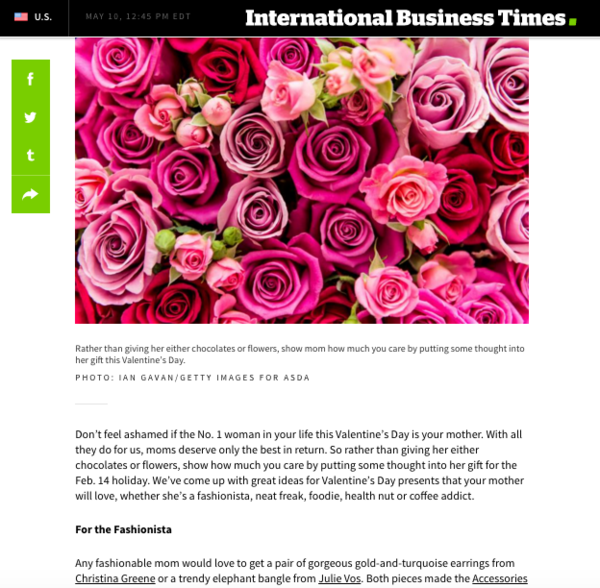 International Business Times | February 2016