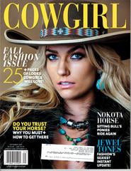 Cowgirl Magazine | September 2015