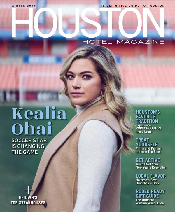 HOUSTON HOTEL MAGAZINE / WINTER ISSUE 2019