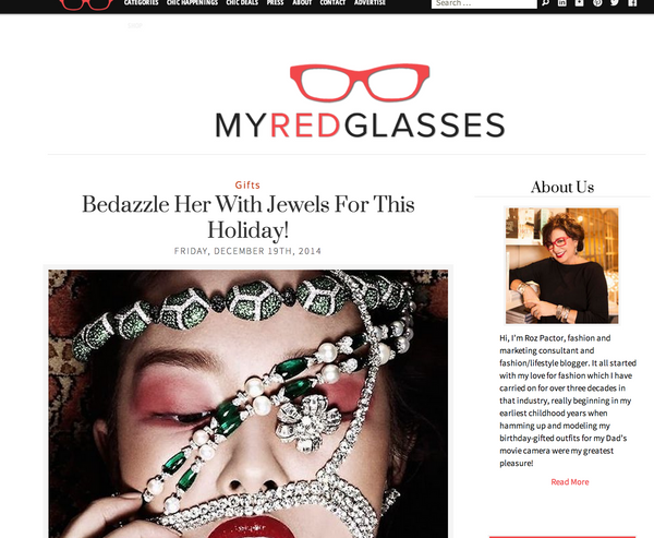 My Red Glasses | December 2014