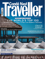 Conde Nast Traveller Magazine featuring Christina Greene Jewelry