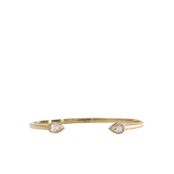 Mona Crystal Bangle - Christina Greene LLC
