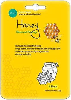 Honey Sheet Face Mask - Christina Greene LLC