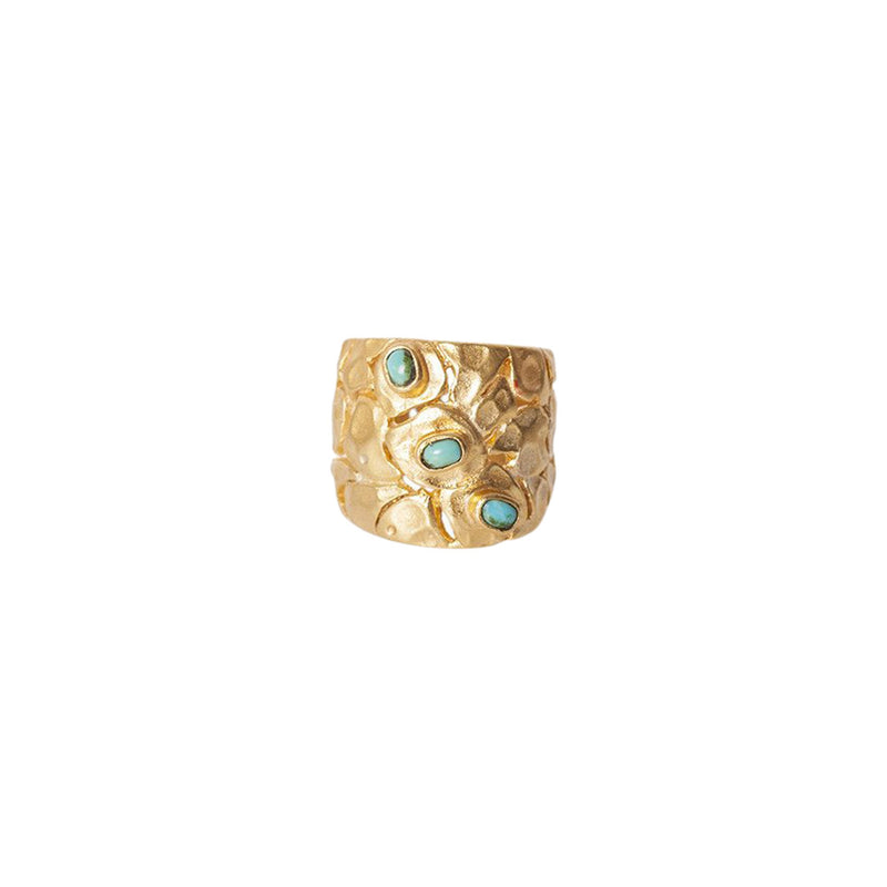 Santorini Ring - Turquoise - Christina Greene LLC
