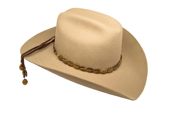 Tiger's Eye Hat band