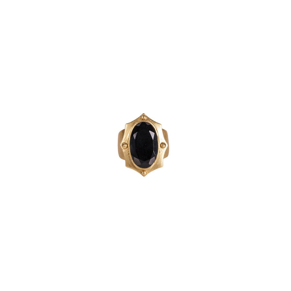 Ethos Ring - Black Onyx - Christina Greene LLC