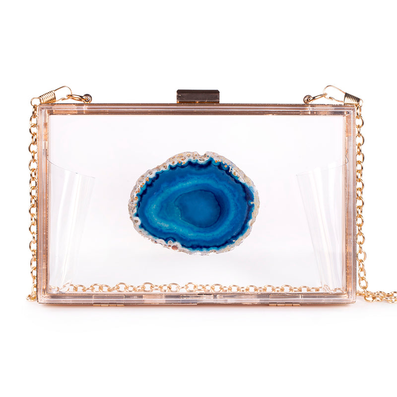 Agate Game Day Clutch - Teal