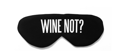 Wine Not Sleep Mask