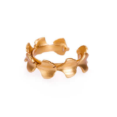 Crown of Ginkgo Ring