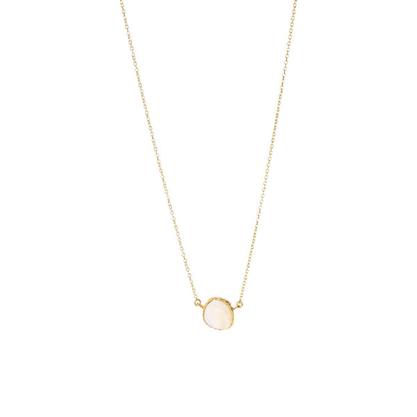Delicate Necklace - Pearl - Christina Greene LLC