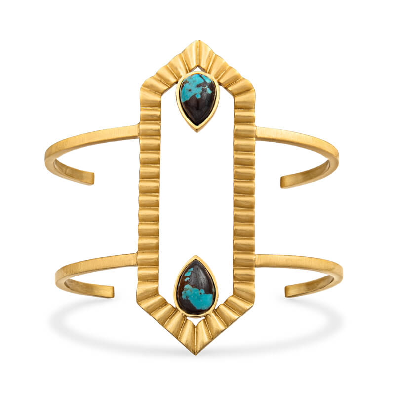 Partner In Shine Cuff - Turquoise