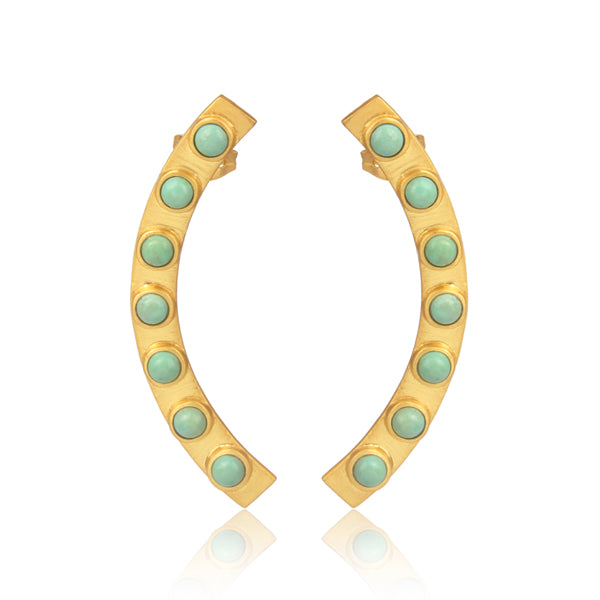 Turquoise Earring Cuff