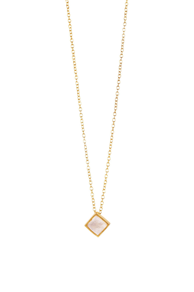 Lavalliere Necklace -  Pearl