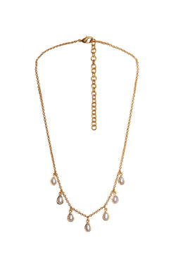 Rise & Shine Collar Necklace - Pearl - Christina Greene LLC