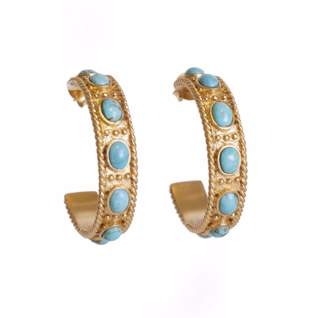 Navajo Hoops - Christina Greene LLC
