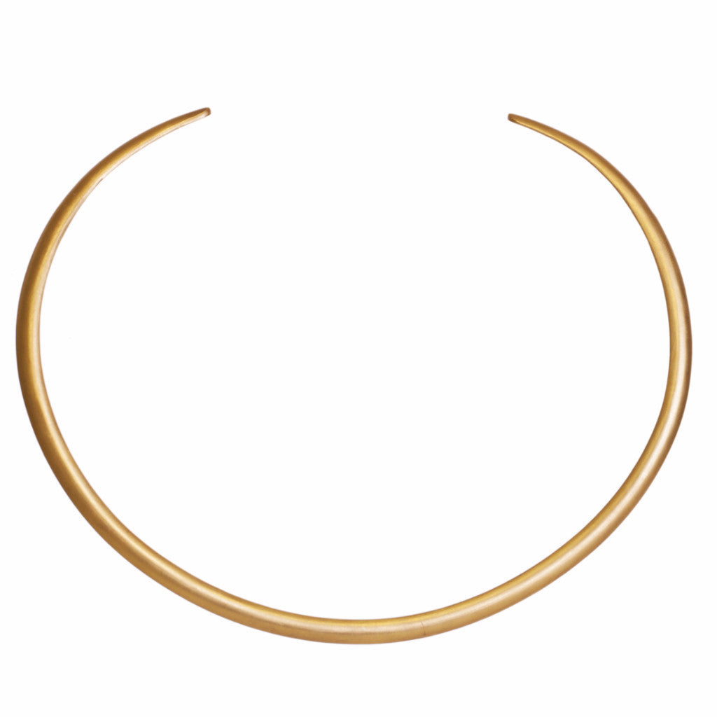 Gold Collar Necklace - Christina Greene LLC