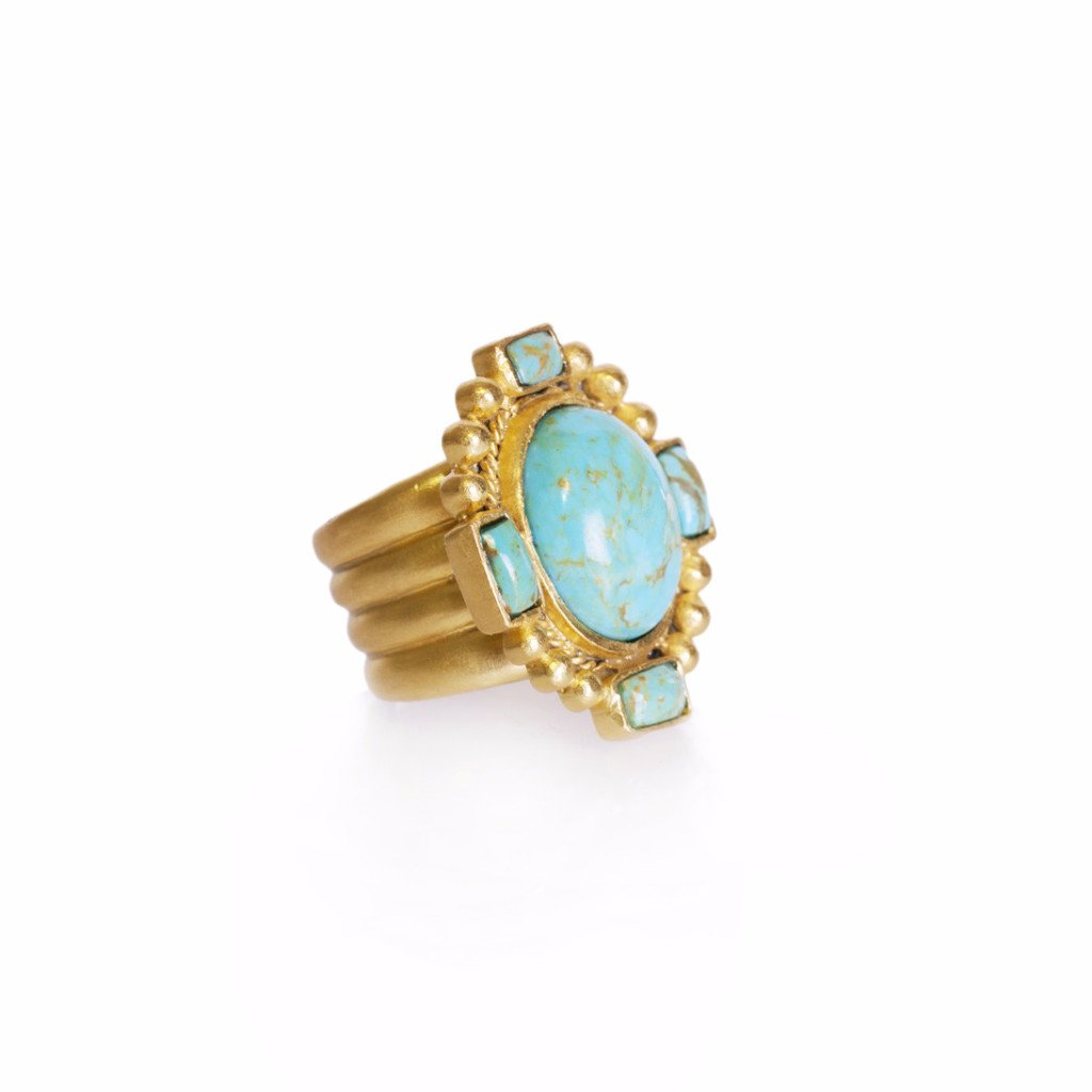 Navajo Statement Ring - Christina Greene LLC