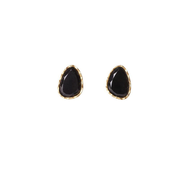 Stud Earrings - Black Onyx - Christina Greene LLC