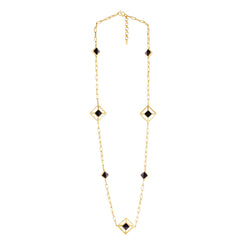 Carina Necklace - Black Onyx - Christina Greene LLC