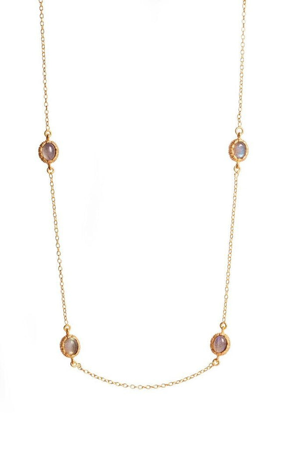 Charlotte Necklace - Labradorite - Christina Greene LLC