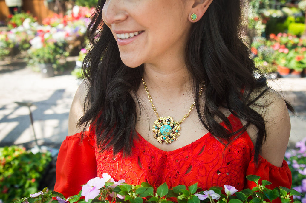 Grand Riviera Necklace - Christina Greene LLC