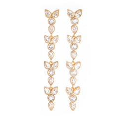 Maddy Crystal Earrings - Christina Greene LLC