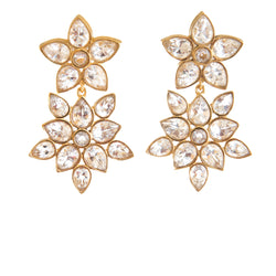 Christina Crystal Earrings - Christina Greene LLC