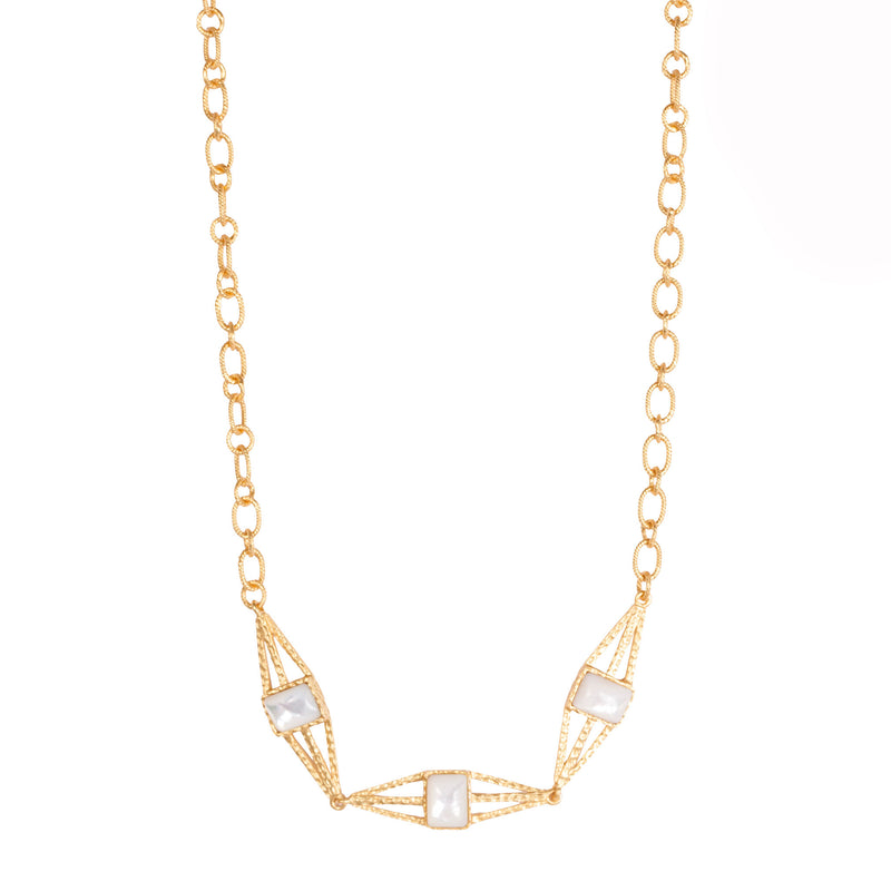 Arixs Necklace - Pearl - Christina Greene LLC