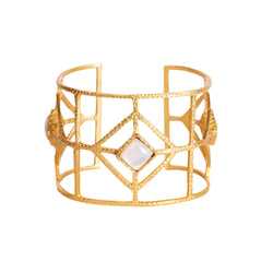 Lux Cuff - Pearl - Christina Greene LLC