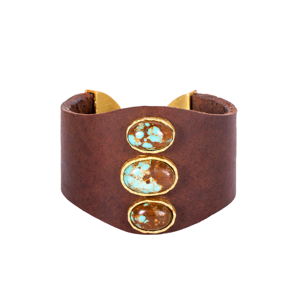 Leather Dreams Cuff - Christina Greene LLC
