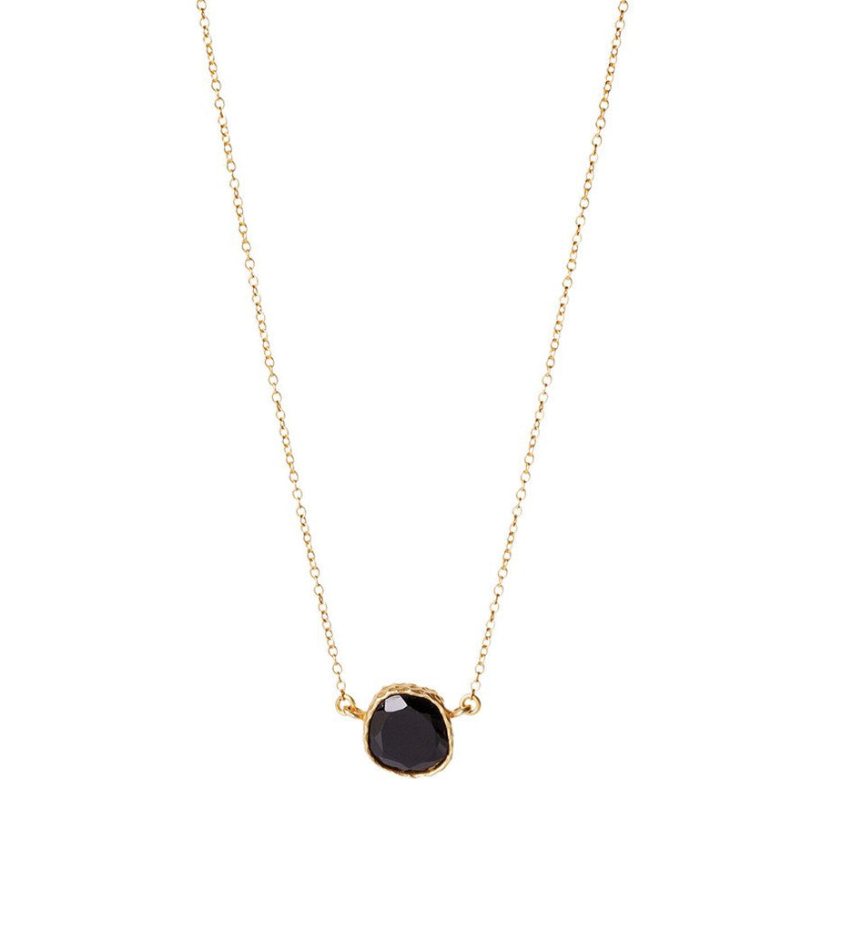 Delicate Necklace - Christina Greene LLC, 18K Gold Plated, Dainty, Stone, 18 inches