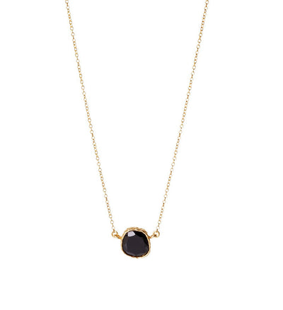 Delicate Necklace - Black Onyx