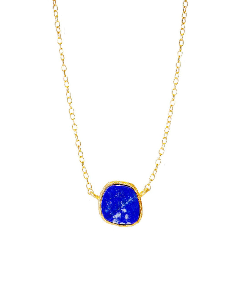 Delicate Necklace - Lapis - Christina Greene LLC