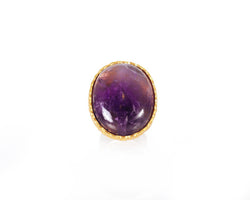 Statement Ring - Amethyst - Christina Greene LLC