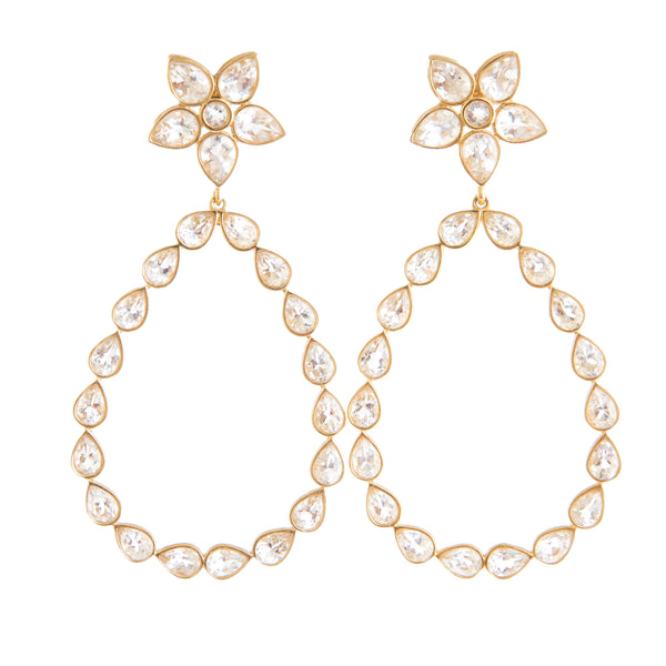 Stacy Crystal Chandelier Earring - Christina Greene LLC