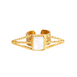 Itten Ring - Pearl - Christina Greene LLC