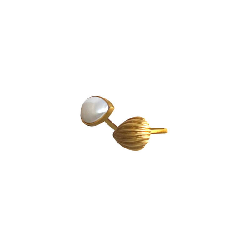 Divine Duo Wrap Ring - Pearl - Christina Greene LLC