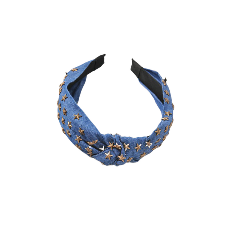 Denim Headband - Christina Greene LLC
