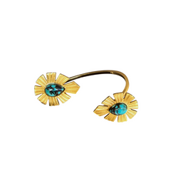 Going Bold Cuff  - Turquoise - Christina Greene LLC