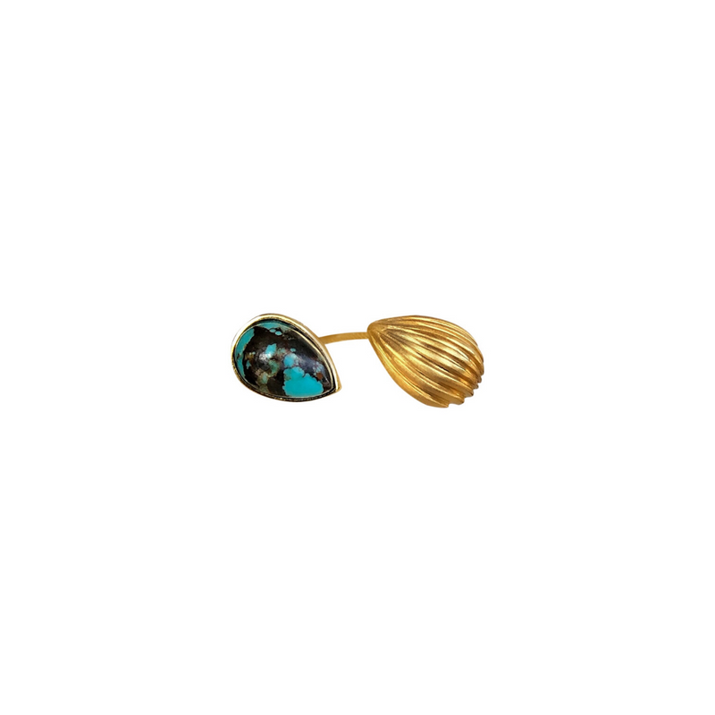 Divine Duo Wrap Ring - Turquoise - Christina Greene LLC