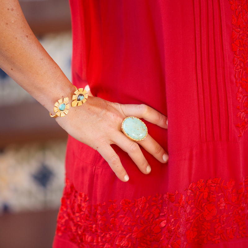 Statement Ring - Turquoise