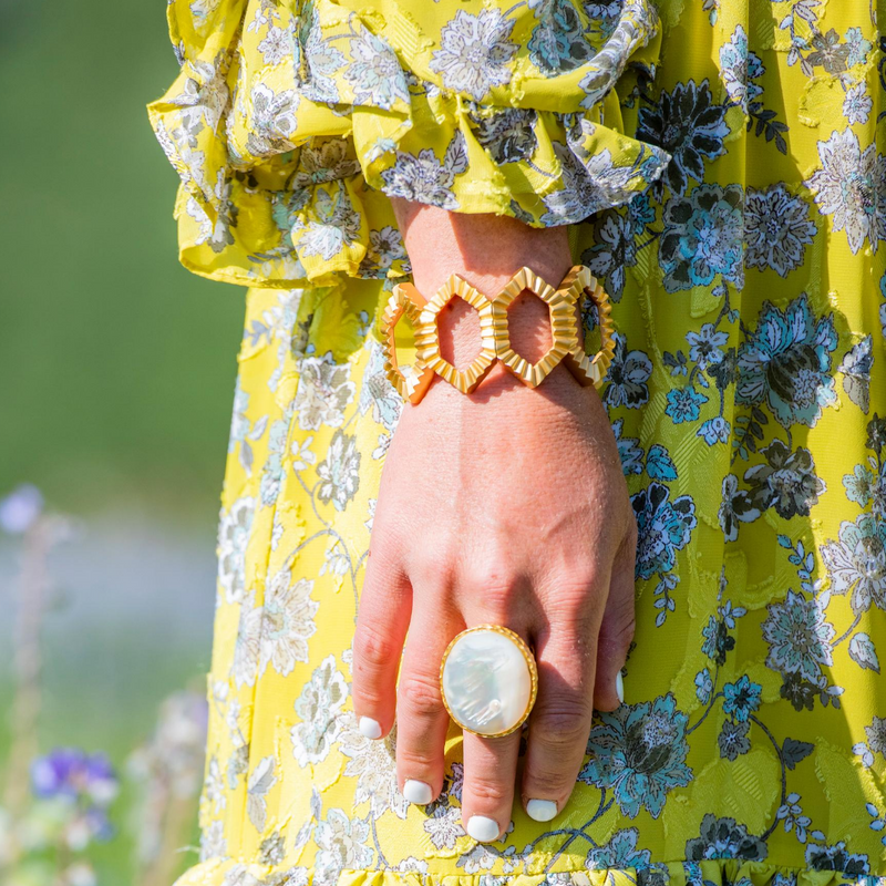 Statement Ring - Pearl