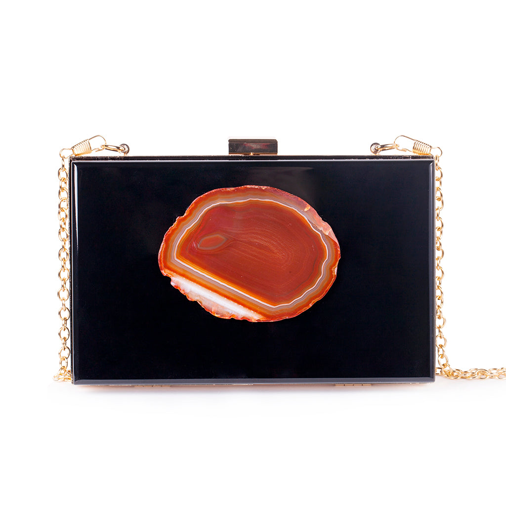 Agate Evening Clutch - Christina Greene LLC