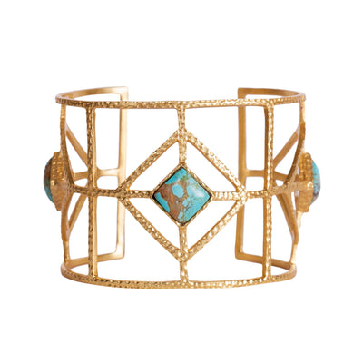 Lux Cuff - Turquoise