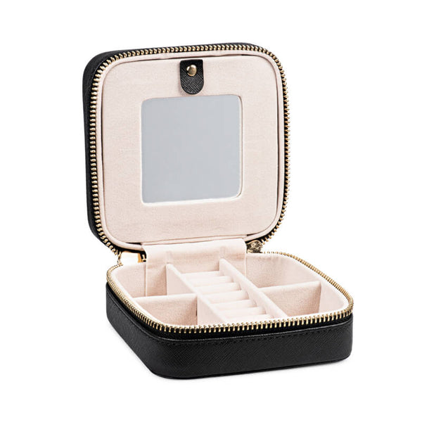 Monogram Travel Jewelry Case