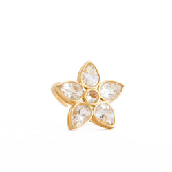 Taylor Crystal Ring - Christina Greene LLC