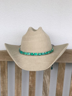 Faceted Hunter Hat band