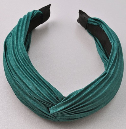 Ribbed Headband - Green - Christina Greene LLC