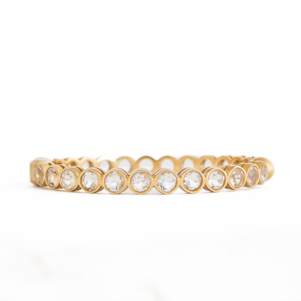 McAllen Crystal Bangle - Christina Greene LLC