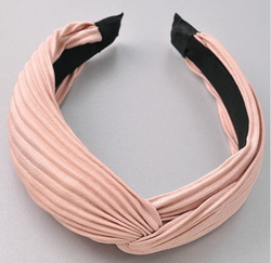 Ribbed Headband - Beige - Christina Greene LLC